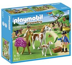 Was £11.99 > Now £8.99.  Save 25% off Playmobil 5227 Country Pony Farm Paddock with Horses and Pony #1StarDeal, #FiguresPlaysets, #Playmobil, #Toy, #Toys, #Under10