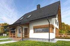 C24/001 - Budowa domów szkieletowych kanadyjskich Rzeszów #daszer #dompiętrowy #projektdomu #dom #domszkieletowy #houseproject #houseofwood Garage Doors, Outdoor Decor, Home Decor, Homemade Home Decor, Decoration Home, Interior Decorating