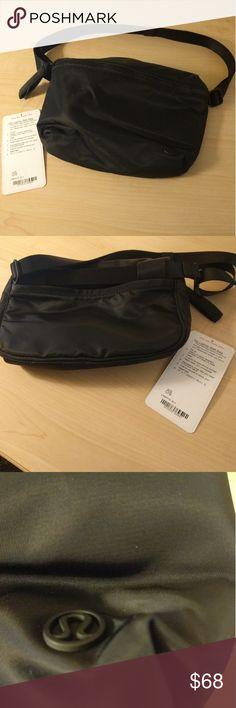 Go lightly belt bag. Lululemon nwt Brand new. Convertible bag. Fanny pack or crossbody bag lululemon athletica Bags Crossbody Bags