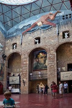 Dali Theatre-Museum in Figueras, Spain
