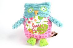 Girl Owl Tooth Fairy Pillow