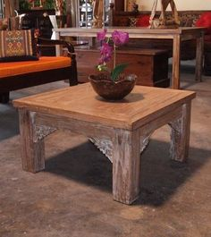 carved square coffee table   1000+ images about Gado Gado Indonesian Furniture Gallery on Pinterest ...
