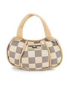 Haute Diggity Dog Chewy Vuitton Checker Handbag - No Color - Size No S