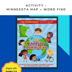 Shop • Our Minnesota Community Community Activities, Teaching Activities, Craft Activities For Kids, Craft Ideas, Interactive Learning, Teacher Newsletter, Book Recommendations, How To Introduce Yourself, Lesson Plans
