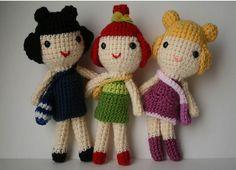 Best friends by my sweet dolls, via Flickr