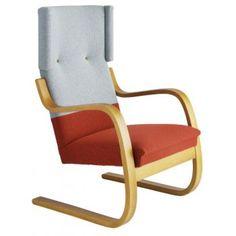 artek. armchair 401. designed by alvar aalto modified by hella jongerius