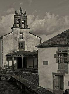 A Capela das Angustias, Parroquia de San Pedro. Santiago de Compostela