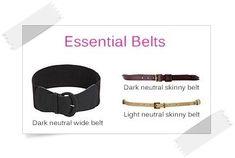 Essential Belts - Your Wardrobe Essentials