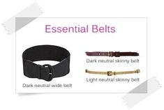 Essential Belts - Your Wardrobe Essentials