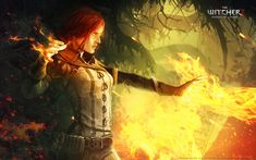 Magic plays a large and central role in the witcher universe. It is used not only by witchers, but by the many mages, priests, druids and myriad other magical creatures that inhabit the literature. Magic is used by harnessing the power of Chaos. While a few simple spells, like a Witcher's sign can be used by anyone, only those born with the power, known as Sources are capable of truly wielding its incredible power. In The Witcher, the most prominent use of magic is the Signs used by Geral...