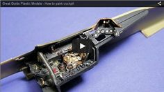 Very well done video-tutorial, presenting in 14 minutes all the steps to detail and paint a pro-looking cockpit (no aftermarkets here!) Thanks toPLASMO - plastic models channel on YouTube for t