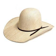 Rodeo King 2-Tone Sensu Open Crown Straw Hat 0f6fab2da4a