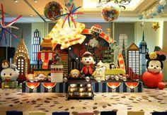 Aprenda dicas para uma comemoração inspirada na turminha do Reino Tsum Tsum, da Disney.