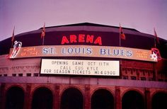 The St. Louis Arena, 1967