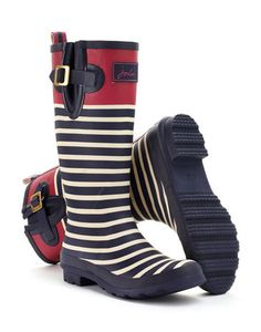 Wellyprint Printed Rain Boot by Joules