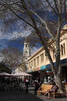 Fremantle, West Australia - a lovely place with a brilliant and chilled vibe