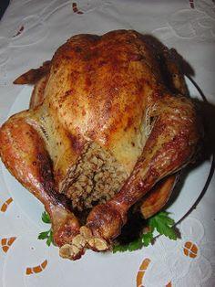 RADOŚĆ KIPIĄCA UŚMIECHEM.: Kurczak nadziewany kaszą gryczaną.