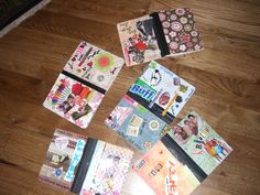 My core group brought magazines and photos and mod podged composition books for use as journals.  They loved it!