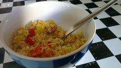 Die einfachen Essen sind oft die besten: Hier bei Jassy Couscous mit Paprika - davon könnte ich jetzt auch eine Schüssel voll vertragen!