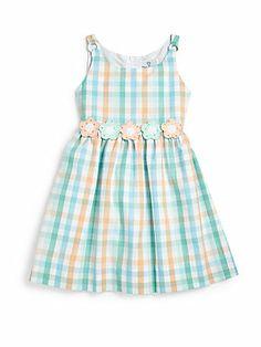 Florence Eiseman Toddler's & Little Girl's Floral Gingham Dress