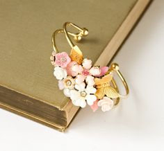 Pretty matching bracelets for my bridesmaids? Love it!