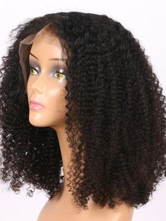 Kinky Curly Remy Human Hair 13x4 Lace Front Bob Wigs For Black Women Human Hair Lace Wigs, Human Hair Wigs, Remy Human Hair, Blonde Hair Topper, Brown Hair Piece, Silk Base Wig, Curly Full Lace Wig, Hair Toppers, Kinky Curly Hair