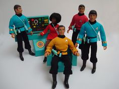 Nostalgic Toys of the 70s | Mego Action Figures | Star Trek