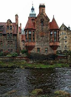Medieval Edinburg, Scotland