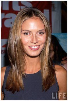 Model Heidi Klum 1998 PhotoDave Allocca