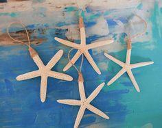 Coastal Christmas - 4x Finger Starfish