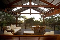 outdoor entertainment areas | placed outdoor entertainment area is situated in a bushfire prone area ...