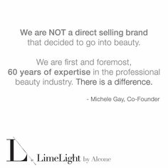 Every direct sales company I have come across has started out by being a business first and then developing their products to go with their vision. LimeLight is different. They were created by their parent company, Alcone Co., to bring high quality and professional makeup  to all consumers. In the process they have developed their own skincare that is all-natural, organic, and free of all of those harsh chemicals!