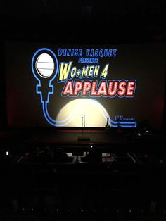 DENISE VASQUEZ BUSTING OUT: Denise Vasquez Presents WO+MEN 4 APPLAUSE™ Friday March 13th 8:00 PM @Inside Jokes Comedy Club inside TCL Chinese Theater 6 In Hollywood