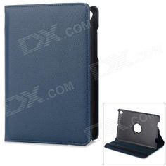 36' Degree Rotary Protective Flip Open PU Case w/ Stand for 7.85'' Mi Pad Xiaomi - Deep blue Price: $8.99