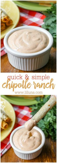Easy Chipotle Ranch