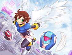 Spread your wings by SaitoKun-EXE on DeviantArt Megaman X3, Character Art, Character Design, Megaman Series, Heroes Reborn, Cool Robots, Super Robot, Robot Art, Metroid