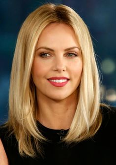 # Hairstyles Fine Hair Before After Enchanting Long Straight Bob Wig Blonde Lace Human Hair Wig Dark Root Hair Wig Hair Styles 2014, Medium Hair Styles, Short Hair Styles, Hair Medium, Natu Hair, Bobbed Hairstyles With Fringe, Layered Hairstyles, Long Bob Haircuts, Medium Hairstyles