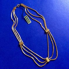 GOLD PLATED Strand/String Necklace Career Jewelry Party Fashion Accessories Gift #Unbranded #StrandString