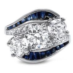 Amazing ring. wondering how many stones it needed//