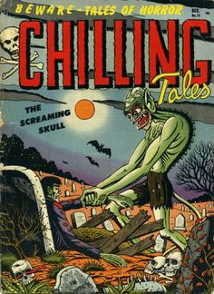 Comic Book Cover For Chilling Tales #13