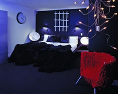 This would be perfect for my room! Just minus the light thingies