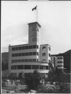 1934 ROVEGNO (GE) COLONIA MONTANA by CAMILLO NARDI GRECO (foto d'epoca/arch. Greco)