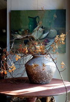 bittersweet plant. Memories of walking down country lanes and woods to gather bouquets each fall.