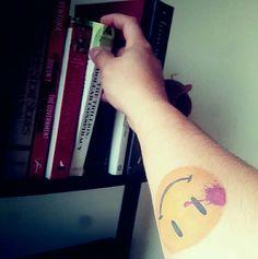 Watchmen Tattoo The Comedian