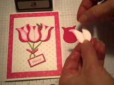 Punch Art Tulip.mp4 - YouTube using SU's Owl punch to make a tulip