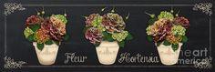 Fleur Hortensia-jp3015 Painting