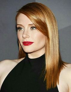 Bryce Dallas Howard Straight Medium Length Strawberry Blonde Red Hair For Date Night For Women Over 40 Pelo Popular, Red Hair Woman, Bryce Dallas Howard, Brown Blonde Hair, Beautiful Redhead, Jessica Chastain, Strawberry Blonde, Celebrity Beauty, Hair Lengths