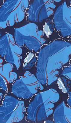 Raoul Dufy -Blues