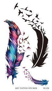 Resultado de imagen para tatuajes de plumas