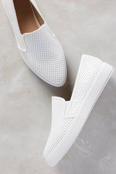 Pilar Perforated Slip-On Sneakers